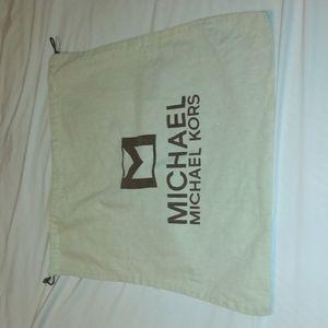 Michael Kors Canvas Dust Bag Large Storage Bag